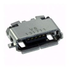 CONECTOR SMD USB MICRO AB